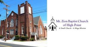 mount zion baptist church high point
